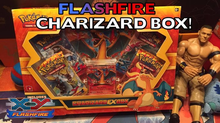 Opening A Pokemon FLASHFIRE Charizard EX Box!