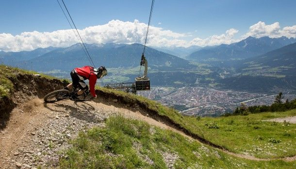 No dirt, no fun! Nordkette Singletrail Downhill Event! ‹ Mountain Publicity