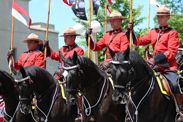 RCMP Carousel - Canada Day Ottawa 2011