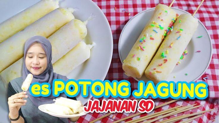 Resep dan Cara Membuat Es Potong Rasa Jagung  #recipe #ice #dessert #cooking #cookingvideo #video