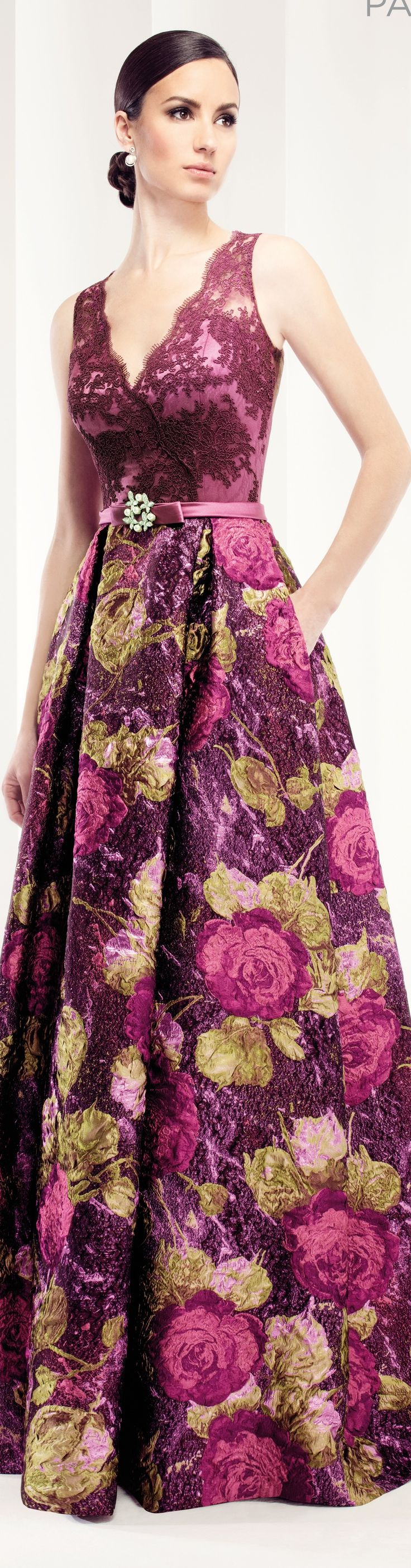 Patricia Avendano women fashion outfit clothing style apparel @roressclothes closet ideas