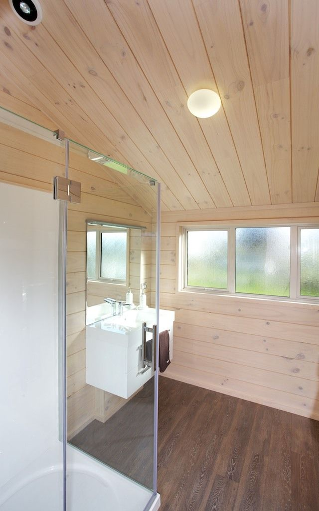 Bathroom in the Lockwood Taupo show home, the Stewart plan