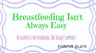 Breastfeeding Isn't Always Easy: Resources for Finding the Right Support