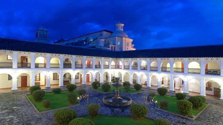La foto del dia (Hotel Dann Monasterio | Popayan.) símbolo de la llamada Ciudad Blanca de Colombia: un antiguo convento franciscano de 1570 y arquitectura colonial española transformado en un hotel de lujo de la más alta calidad. http://mostrarmealmundo.com/