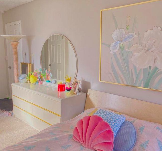 Cute Room Ideas, Cute Room Decor, Room Ideas Bedroom, Bedroom Decor, Pinterest Room Decor, Pastel Room, Pastel Decor, Indie Room, Minimalist Room