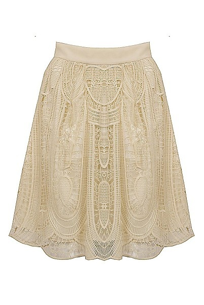 SEA NY Embroidered Skirt by SEA NY