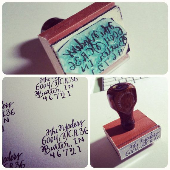 LOVE! $22 PERFECT return address stamps!