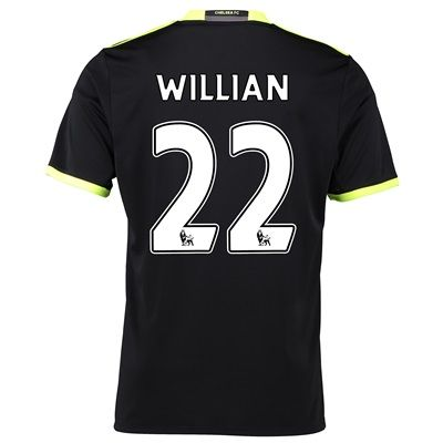 Chelsea Away Shirt 16-17 with Willian 22 printing