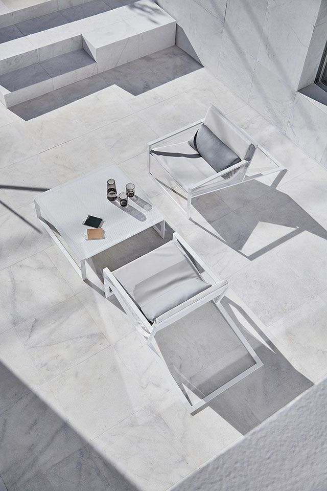 TDC: Spanish Design Tour | Blau Outdoor furniture collection by Fran Silvestre for Gandia Blasco