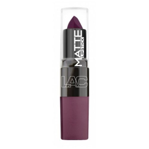 (6 Pack) LA Colors Matte Lipstick - Venom. Matte about color L.A. COLORS lipstick has you covered with 16 gorgeous, matte shades. This revolutionary formula redefines Matte wears comfortably and will not dry out lips. The wide range of eye catching colors is highlighted by the modern, square design and includes everyday nudes to vampy, bold shades. Lips are supple yet velvety matte. Net Wt. 0.13 oz / 3.8 g.