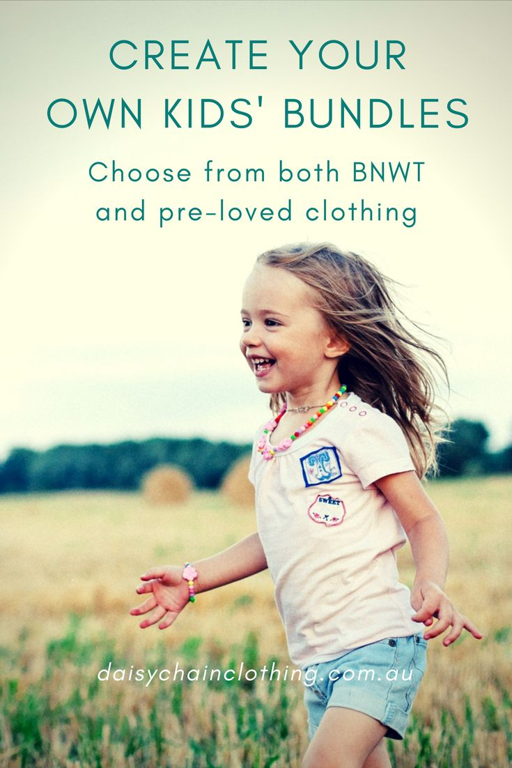 Dress your kids in the brands you love, for less. Choose from both new and pre-loved children's clothing, from designer brands to everyday favourites.  #kidsfashion #girlsfashion #boysfashion #babyclothes #onlineshopping #cheapkidsclothes #australia #daisychainclothing