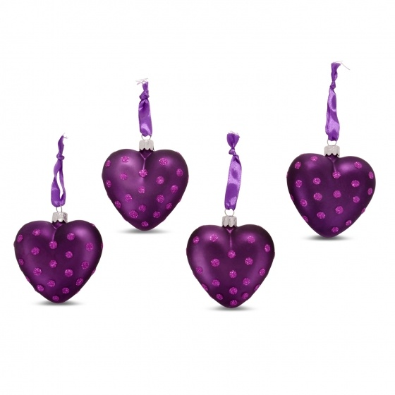 Purple Christmas Tree Baubles Uk : Images about christmas tree decorations on