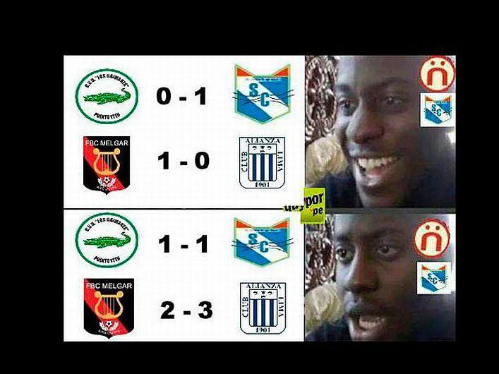 Memes por triunfo de Alianza Lima y empate de Sporting Cristal #Peru21