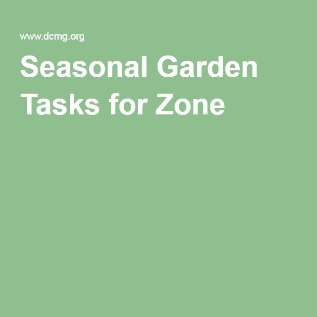 Seasonal Garden Tasks for Zone 6