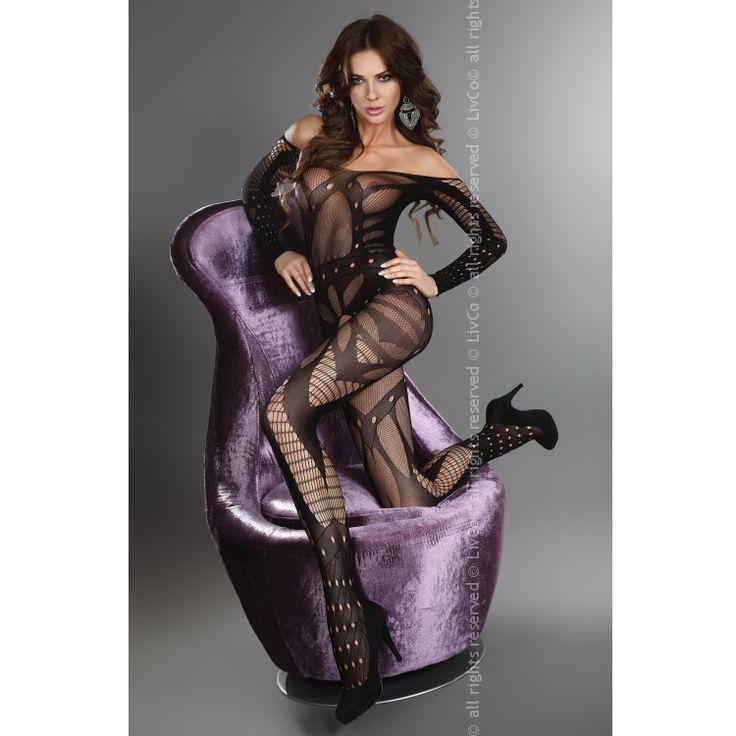 Hassibia de la colección de catsuits Livia Corsetti nace esta pieza única en su gama, cada catsuit está fabricado con estrictos controles de calidad y sus