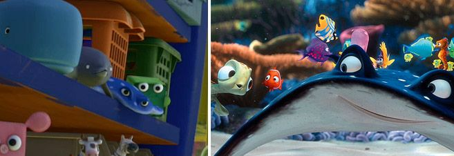 Mr Ray From Finding Nemo Is In Toy Story 3 Pixar Cameos
