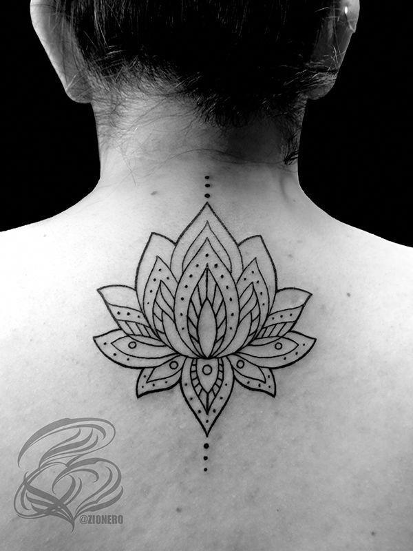 schönes Mandala Tattoo #Mandalatattoo