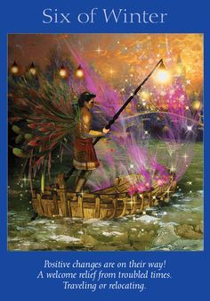 Oracle Card Six of Winter | Doreen Virtue | official Angel Therapy Web site