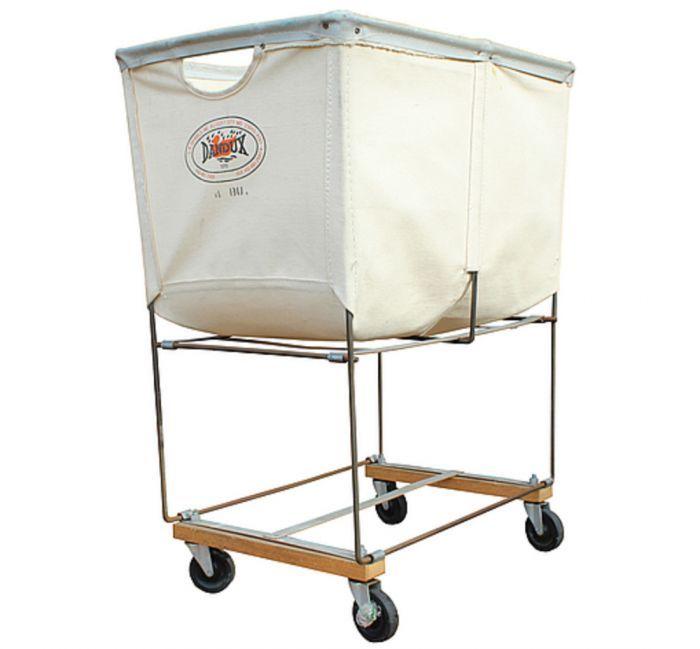 Dandux Elevated Basket Bulk Trucks Laundry Cart Vintage Decor Industrial