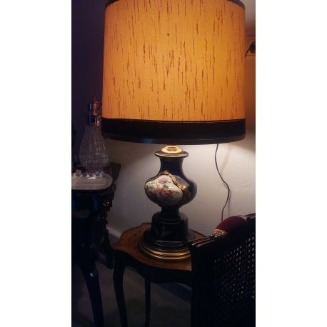 Vintage procelain table light