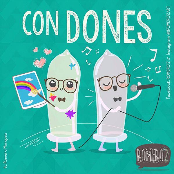 ConDones Vía @RomerozArt #compartirvideos #watsappss #imagenesdivertidas