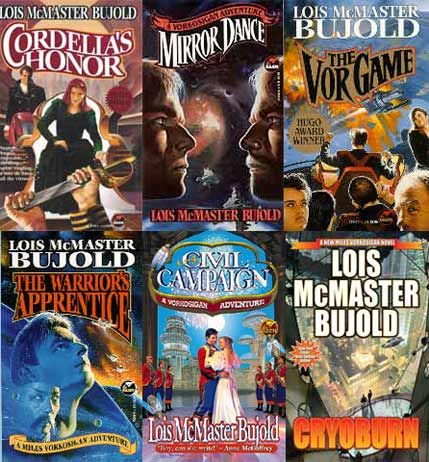 What else to read if you like Lois McMaster Bujold's Vorkosigan saga