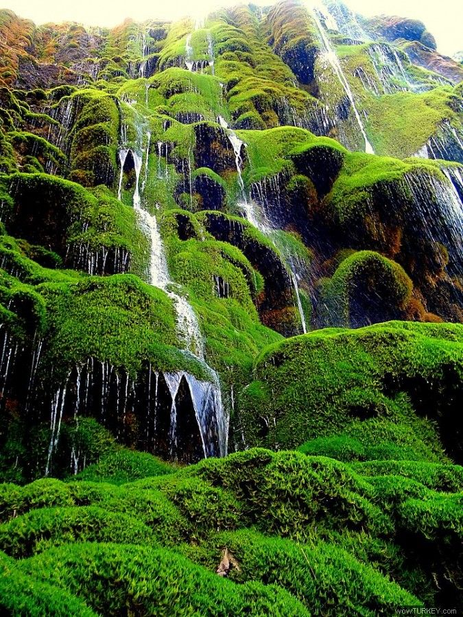 Guney Falls Denizli Turkey
