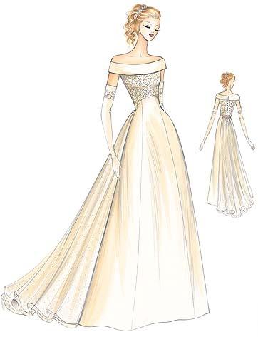 marfy dress pattern 622  Beautiful and old fashioned. Love it!