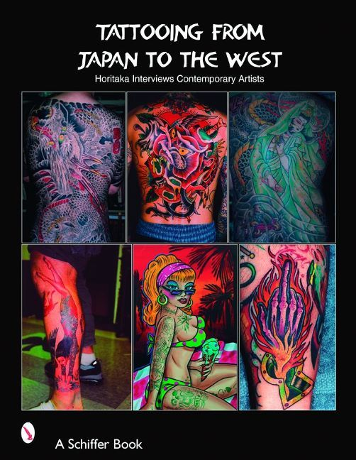 "Meet 26 leading contemporary tattoo artists. Interviews and over 425 photos of their artwork, from tattoos to paintings, make this an invaluable resource. This book contains insightful interviews with living legends like Don Ed Hardy, Doc Forest, HoriyoshiII, Paul Jeffries, Bob Roberts, and Mike Malone. These tattoo pioneers shed light on the tattoo's evolution from a sub-cultural phenomenon to a mainstream trend, and explore tattooing as a ""finer"" art form. Visit to find out more!"