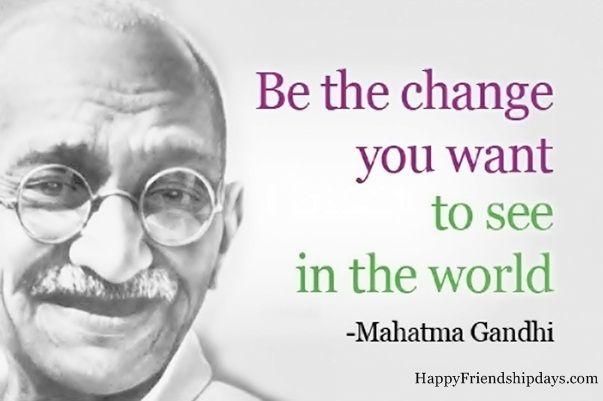 Best Sayings by Mahatma Gandhi, Short Happy Gandhi Jayanti Status for Whatsapp in English, One Line Inspirational Sms & Messages by Mahatma Gandhi Slogan