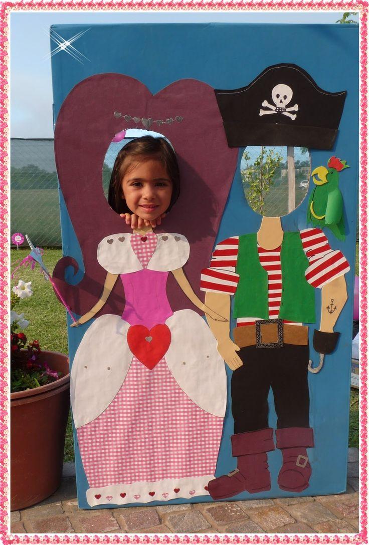 tarjetas infantiles de princesas y piratas - Buscar con Google