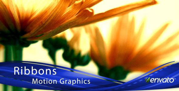 Ribbons Motion Graphics (Lower 3rds & Backgrounds)