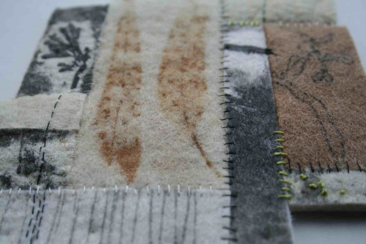 Alice Fox printed fragments #4 detail