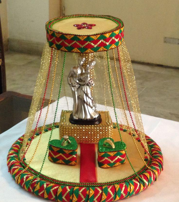 Engagement ring platter :) Rs 1400  Inbox
