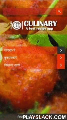 SI Culinary - Marathi Recipes  Android App - playslack.com , Si Culinary App - A best Marathi recipe app which provide you simple recipes for everyone: from aspiring cooks to professional chefs. With Ingredient, Description and Some Tips as well. If you love to cook, SI Culnary App will be most useful app you've ever downloaded! you will get awesome and unique recipes in Maharashtrian language i.e., in your mother tongue MarathiContent powered by kharmure marathi blog. all are kharmure…
