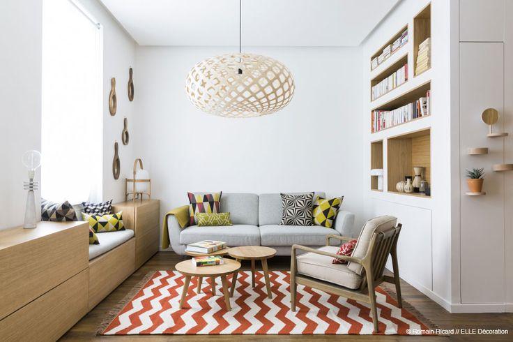 Appartement M -Le Cube designed by Margaux Beja #furniture #trends #evstil #dekorasyon #home