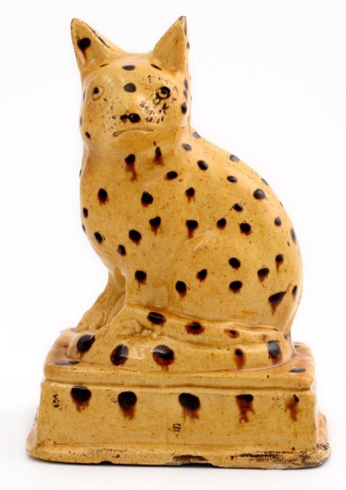 cat .... slipware...: Cat Ornaments, Ceramics Cat, Spots Cat, Pottery Cat, Cat Figurines, Catt I, Stokes On Tr Museums, Slipwar Cat, Dots Cat