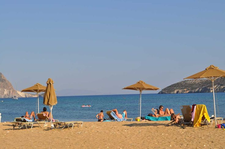 Saint George Beach, Antiparos - Cyclades - Greece