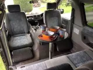 Front swivel seats; definately the way to go!