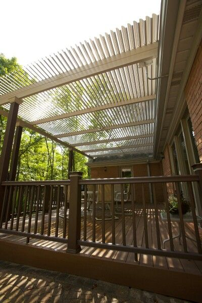 17 Best images about Patio Covers - The New Wave of Shade ... on Patio Cover Ideas For Rain id=52521