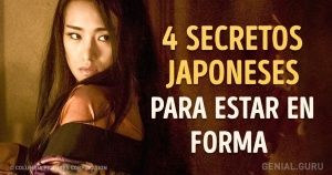 4Secretos japoneses para estar enforma