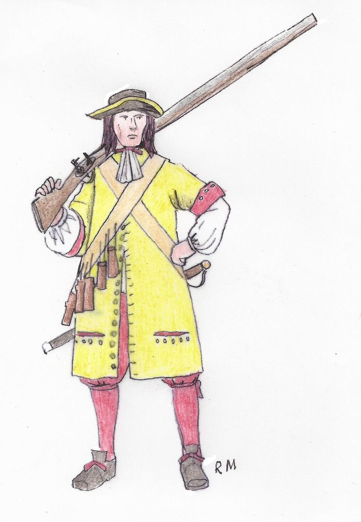 2nd July 1667 Duke of York and Albany's Maritime Regiment  - defence of Landguard Fort 350 years ago