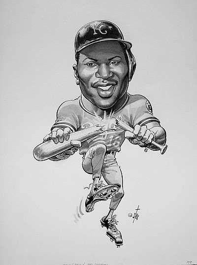 Bo Jackson illustration by Bruce Stark.