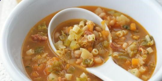 """It tastes good too.(Courtesy of Getty) Related: The Magic Anti-Inflammatory Soup That Will Keep You Healthy All Summer Bust out the cookware, we know what's for dinner. Turns out an easy-to-make, inexpensive soup that you likely enjoyed as a child could help you live longer. Dan Buettner, author of The Blue Zones Solution: Eating and Living Like the World's Healthiest People, shared this minestrone soup recipe that comes from a Sardinian family known as """"the world's longest lived fami..."""