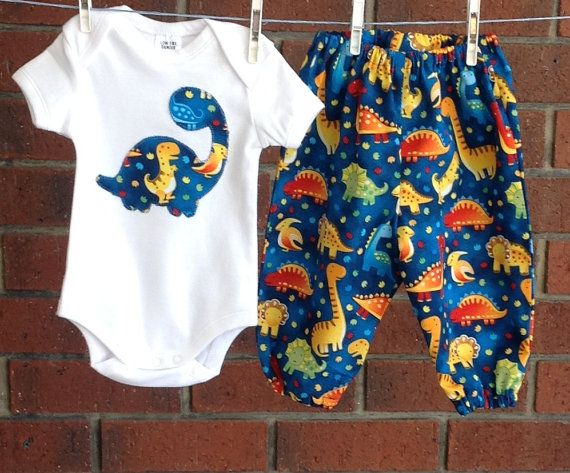 Hey, I found this really awesome Etsy listing at https://www.etsy.com/listing/225766764/boys-dinosaur-outfit-3-6-12-18-months