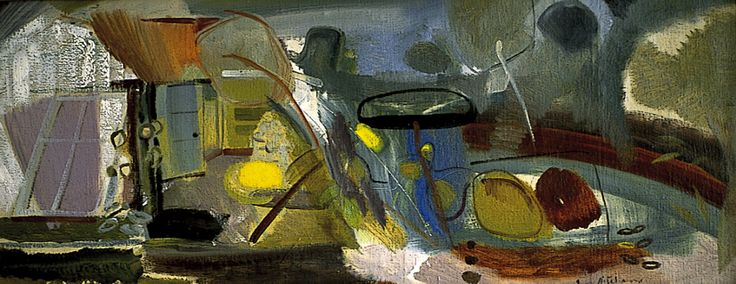 Ivon Hitchens - Tangled Pool
