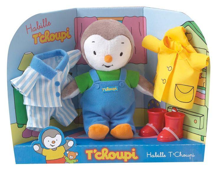 Jemini - 022694 - Peluche - T'Choupi S'Habille - 21 Cm: Amazon.fr: Jeux et Jouets