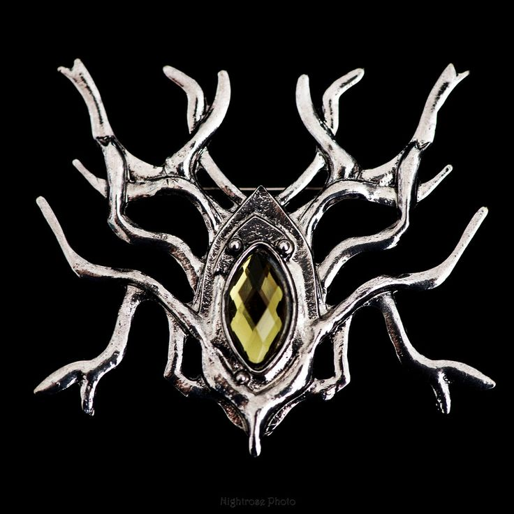 Elvenking Thranduil's Spider Brooch Pin (Replica prop from The Hobbit movies).