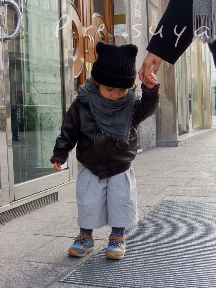 Pantaloni a 3/4 con gamba larga per bimbo e bimba di Pre.suya.    #pants #pantaloni #kidsfashion #handmadeinitaly #pantaloniperbimbi #abbigliamentobimbi #presuya