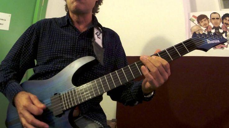 Elio e le Storie Tese - Heavy Samba - Cesareo Guitar Tutorial - Ma che voglia che mi viene di tornare a suonare la chitarra!!!!!!